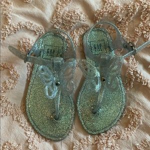 GAP Shoes - Butterfly Silver Jellies